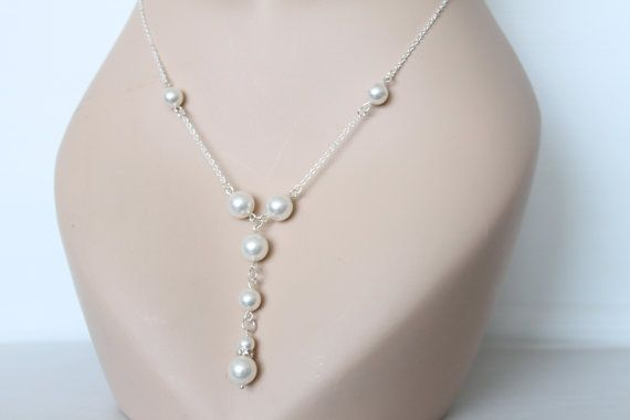 Swarovski pearls necklace pearl jewelry pearl necklace