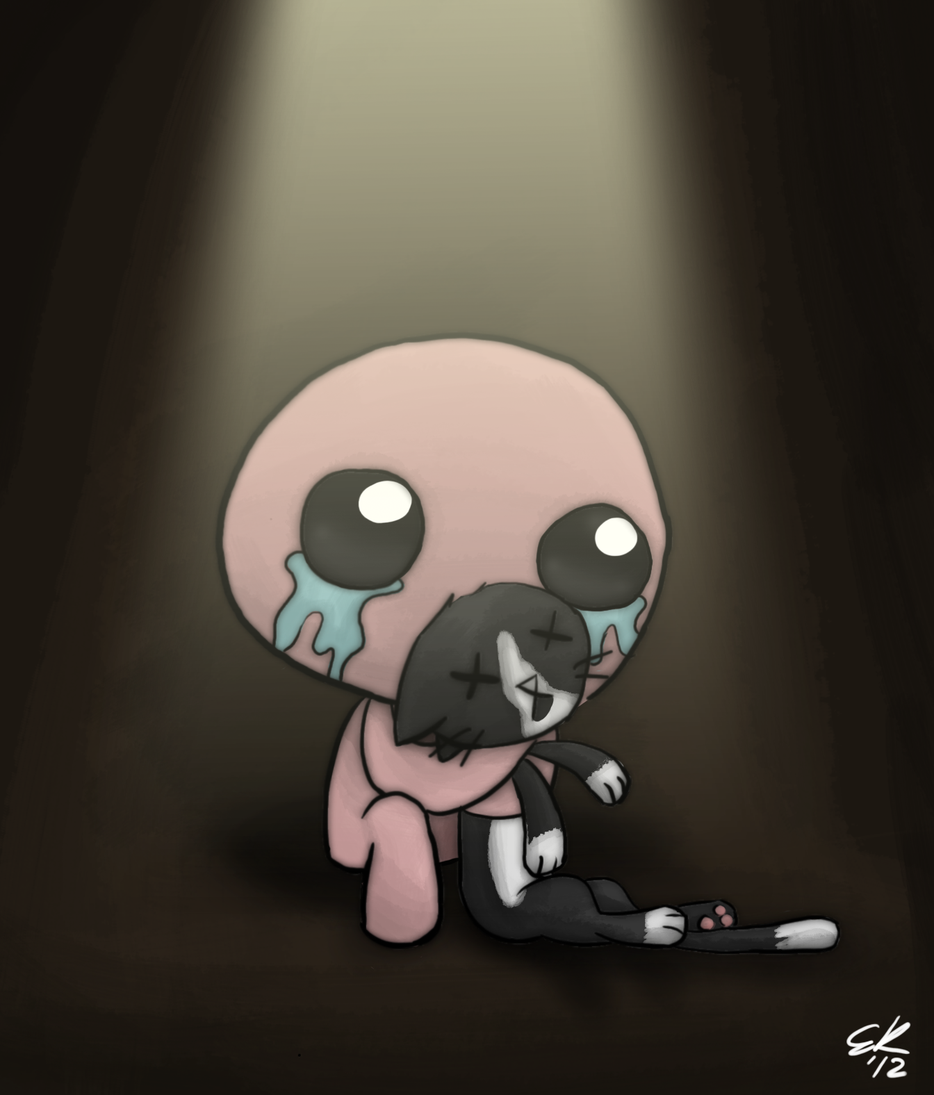 Tboi Isaac And Guppy By Ec8er On Deviantart The Binding Of Isaac Isaac Bendy And The Ink Machine