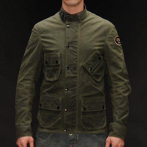 Vanson Stormer Motorcycle Jacket Front