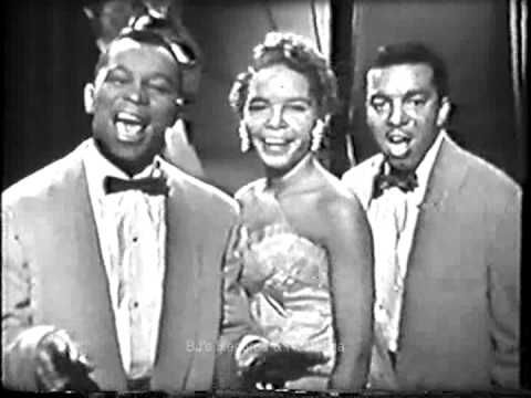 THE PLATTERS  The Great Pretender  1950's Live Kinescope  Classic