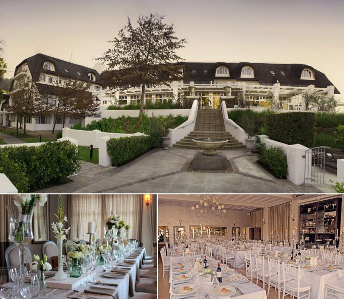 Three Cities Franschhoek Wedding Venue