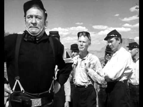 """""""Yellow Stripes"""" (""""Rio Grande"""", 1950) - OST by Victor Young / Ken Curtis)"""