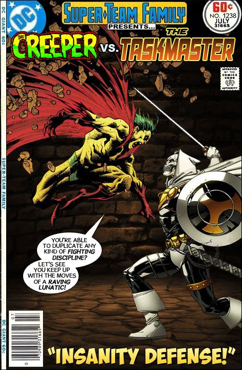 Super-Team Family: The Lost Issues!: The Creeper Vs. The Taskmaster