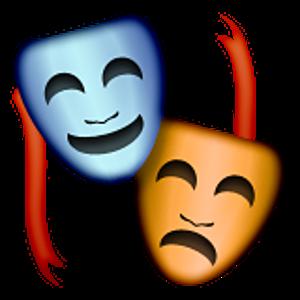 Resultado de imagen de emoji teatro