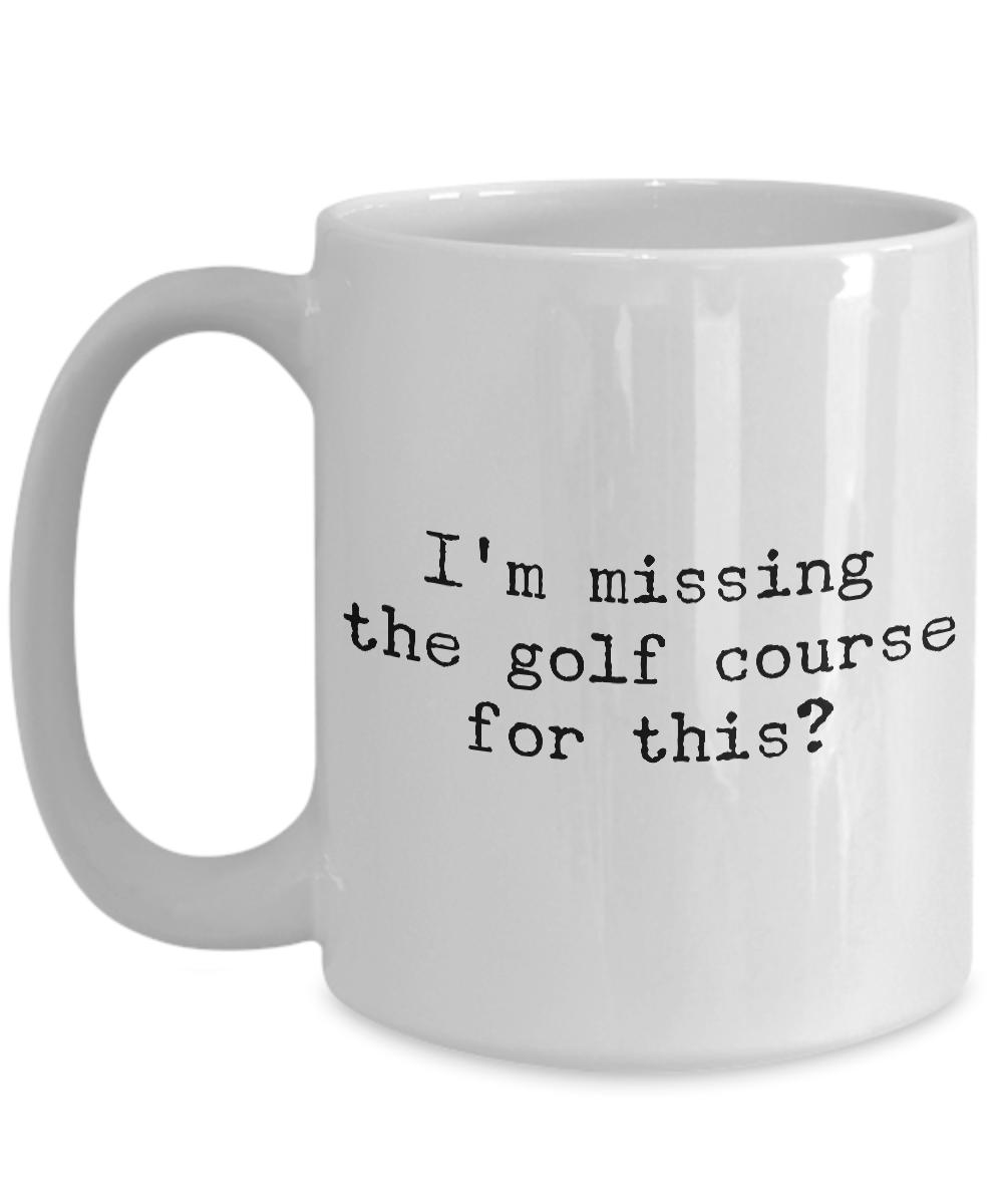 Golf Coffee Mug Golf Gifts for Dad Golf Gag Gifts