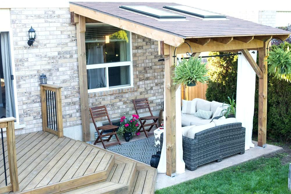Backyard Detached Covered Patio Designs Patios Backyard Patio