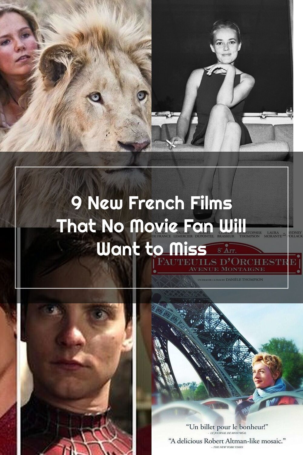 9 New French Films That No Movie Fan Will Want To Miss In 2020 French Films Movies Film