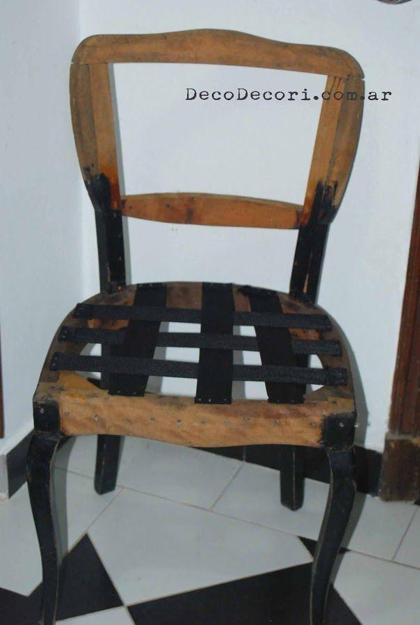 Claves para retapizar una silla clásica | Estilo francés, Franceses ...