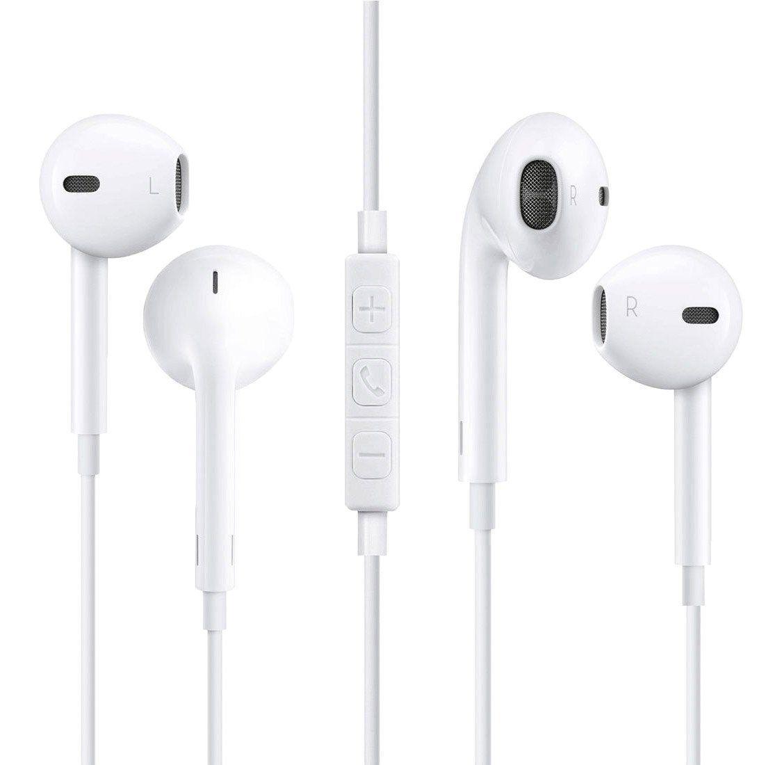 Earphones2 Pack Iphone Earbuds Earphones With Microphone Headphones