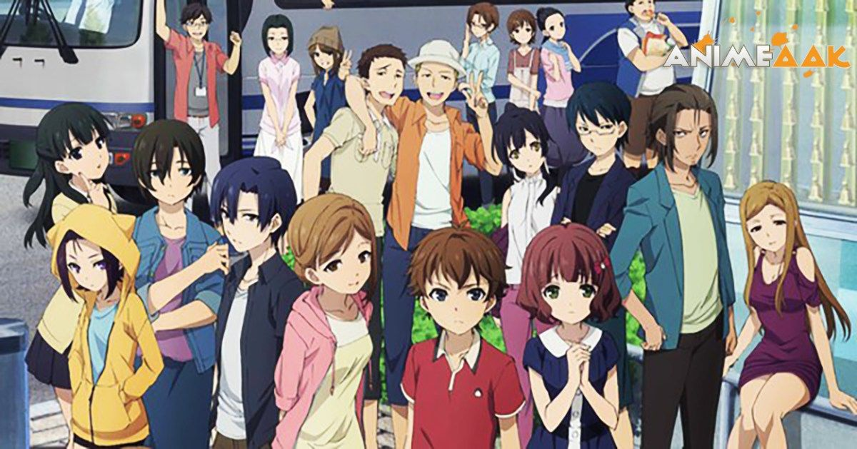Mayoiga 迷家 01 720p Eng Sub Mkv 90mb Animeaak Anime Lost Village Anime People
