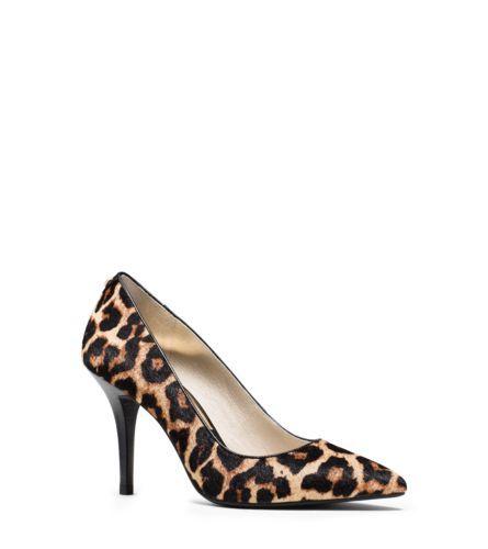 b22a440cb8d2 Flex Leopard Calf Hair Pump