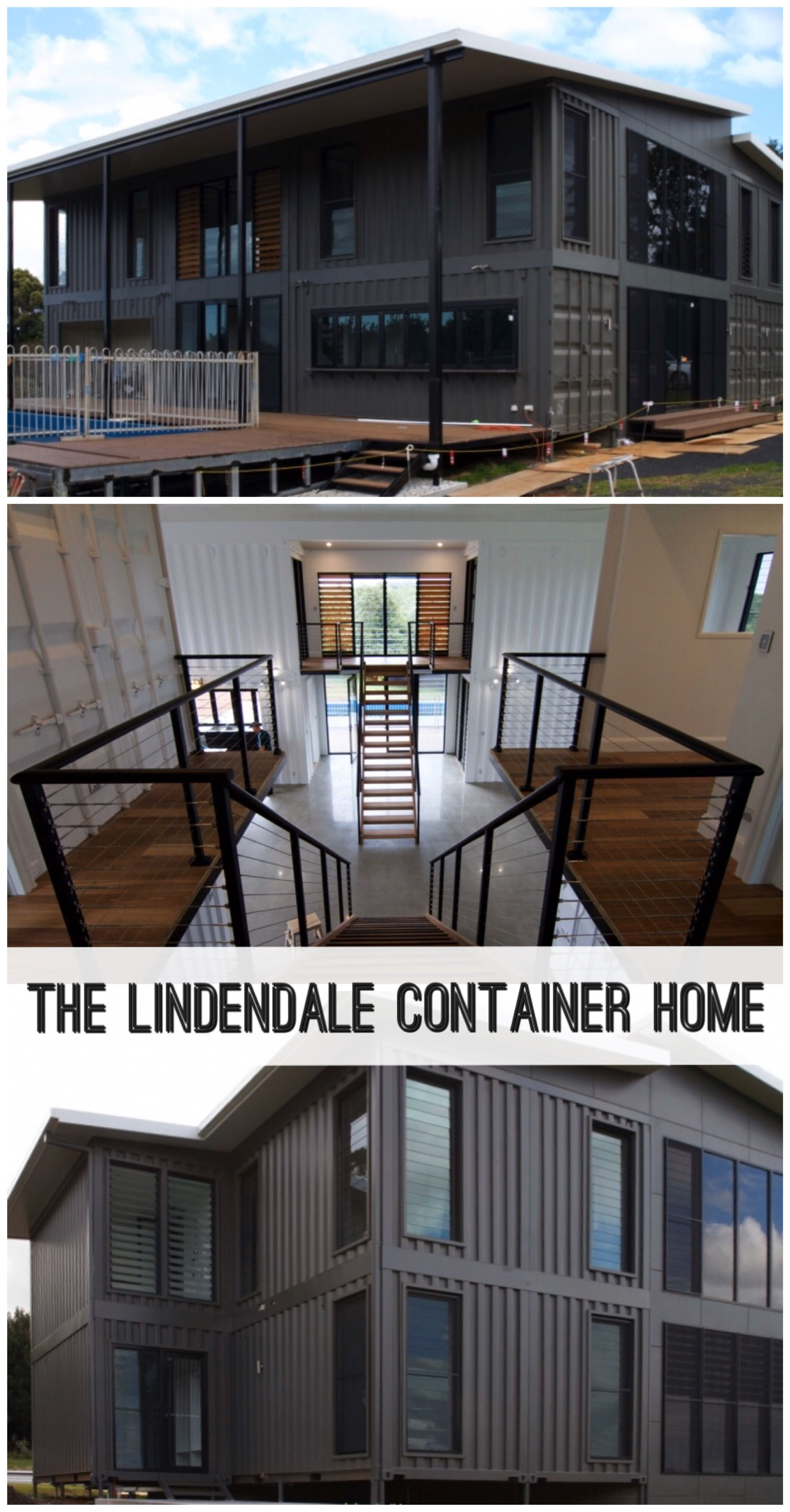 The Lindendale Container Home - Container Hacker #containerhouse