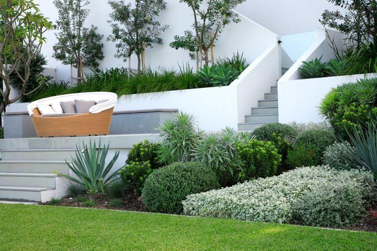 Aménagement jardin sur plusieurs niveaux – 18 idées magnifiques ...