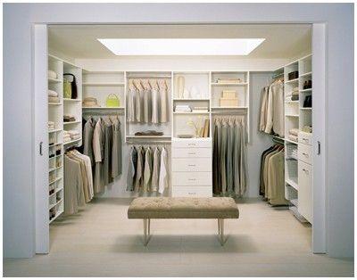 Walk in closet - California Closets #wonderful