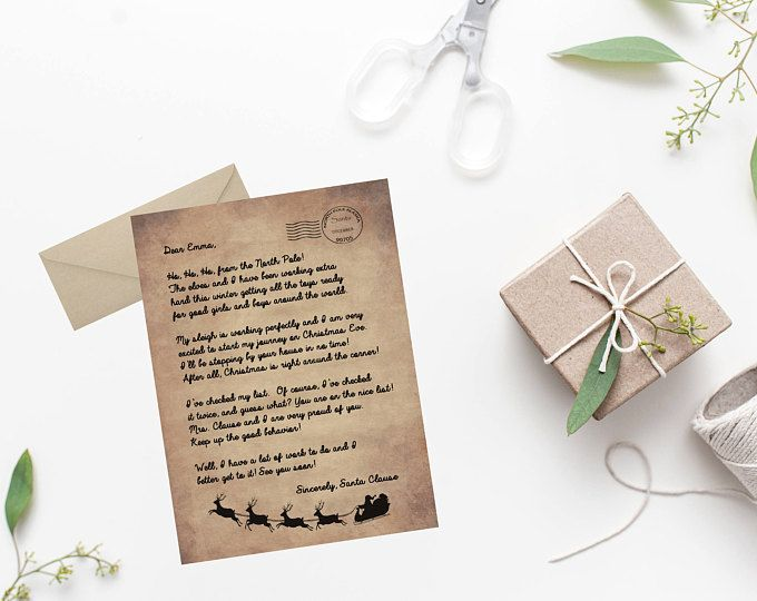 letter from santa santa letter box christmas letter santa