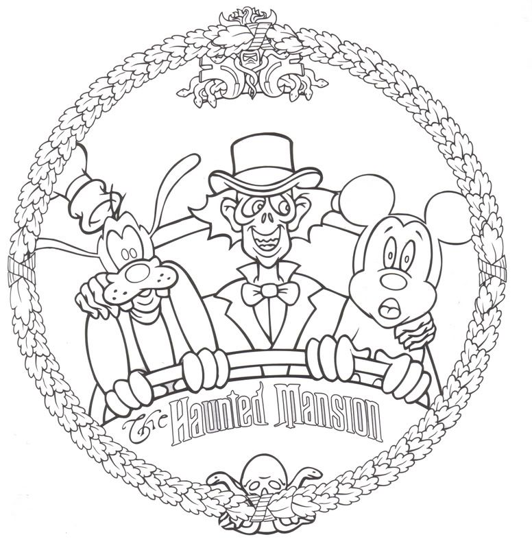 Kids Disney Activity Book Updated 4 25 Epcot Around The World Pg Halloween Coloring Pages Disney Halloween Coloring Pages Free Halloween Coloring Pages