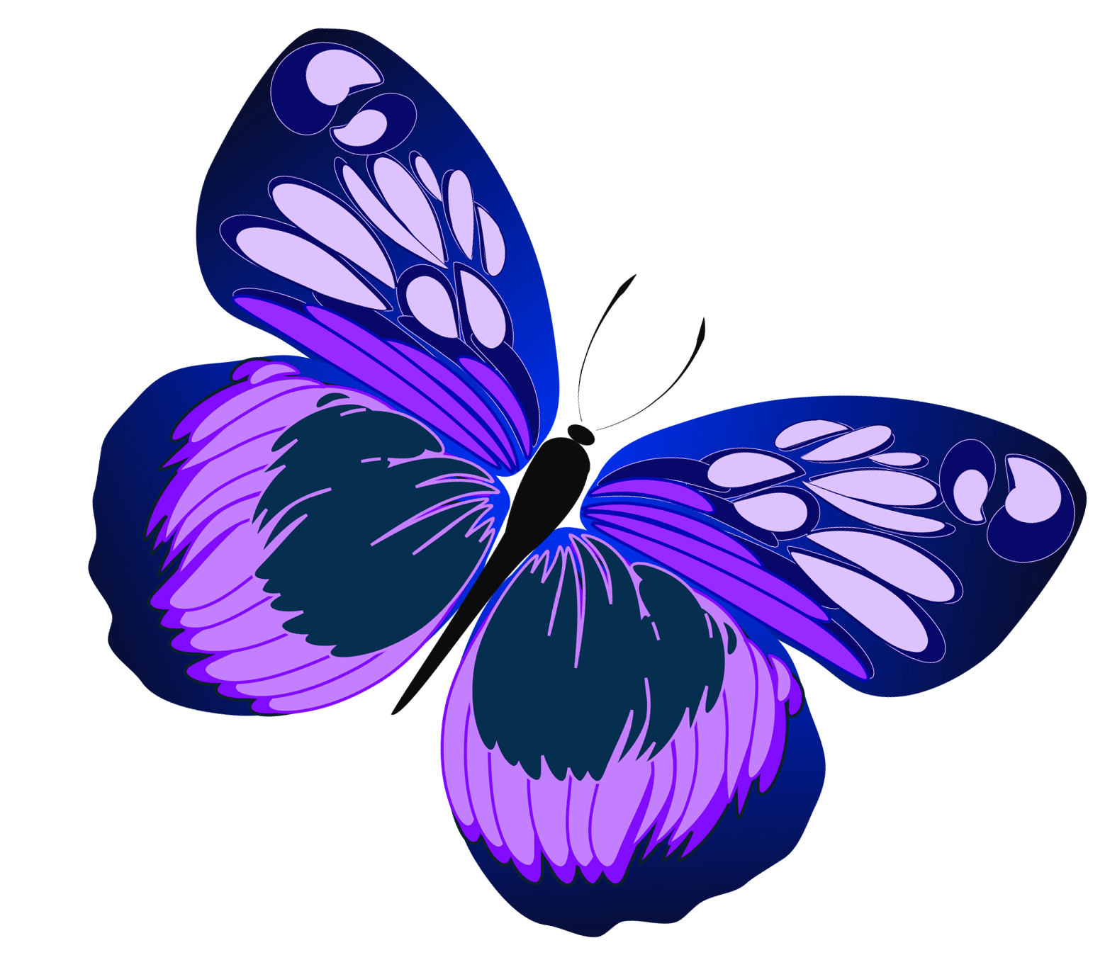 Pink And Purple Butterfly Clipart Clipart Panda Free Clipart Images Butterfly Clip Art Purple Butterfly Butterfly Painting