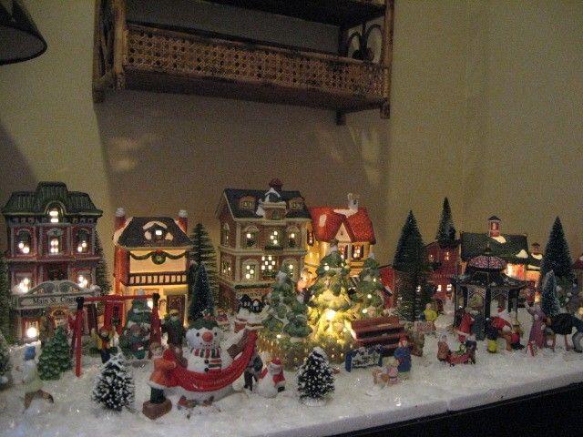 Tiny Christmas Village Christmas Village Decorations Christmas Village Display Christmas Village Sets