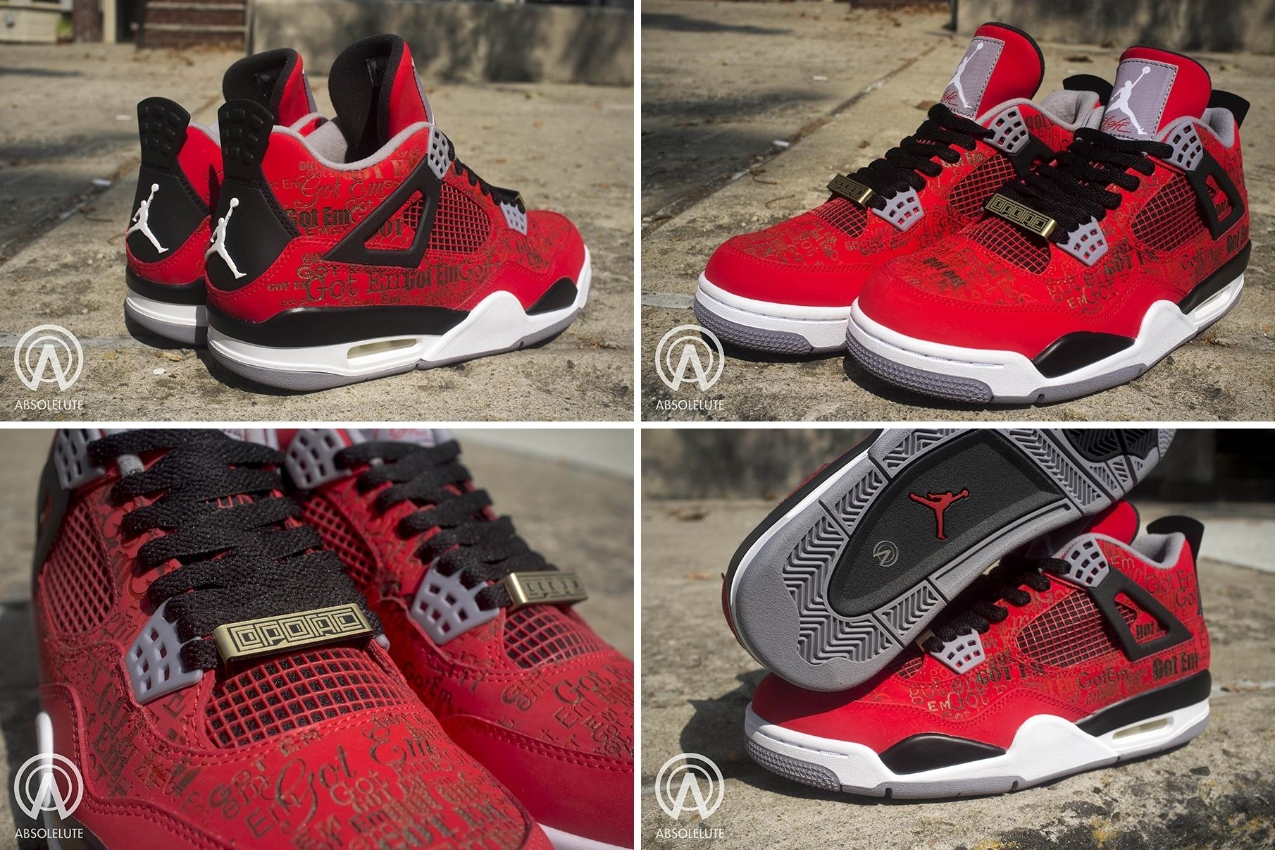"9e263de31eea39 Air Jordan IV ""Got Em"""