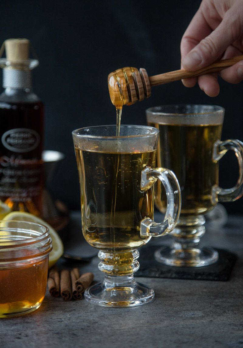 Classic hot toddy made with cognac vindulge recipe