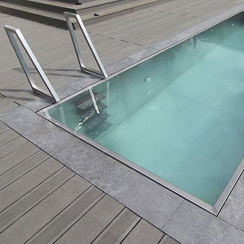 Pin de carlos casal en piscinas arquitetura casas casas for Estanque prefabricado rectangular