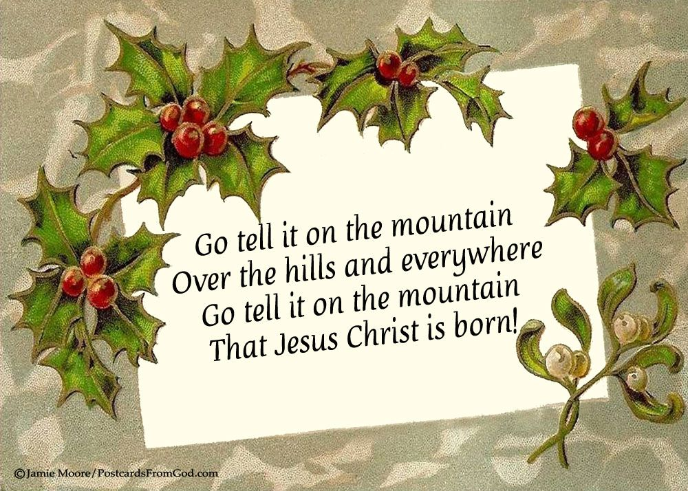 go tell it on the mountain thesis The bible and irony in james baldwin's go tell it on the mountain  thesis record url: http  the bible and irony in james baldwin's go tell it on the mountain k .