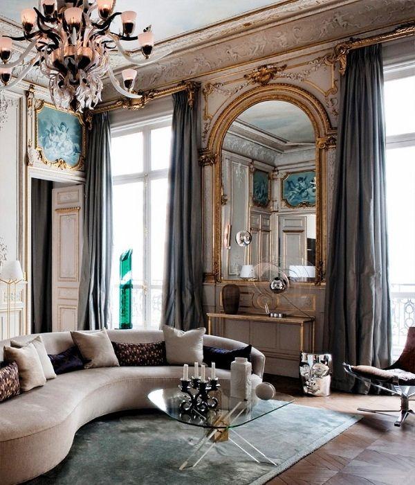 Modern Classic Mix Decor Impressive Interior Design Apartment Paris Interiors Home House Interior