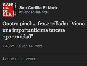 Sancadilla Norte