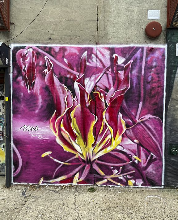 #flowers #graffiti #street #roberttopa #art #colors #topaphotography #streetart #nyc #newyorkcity #bushwickart #bushwickcollection