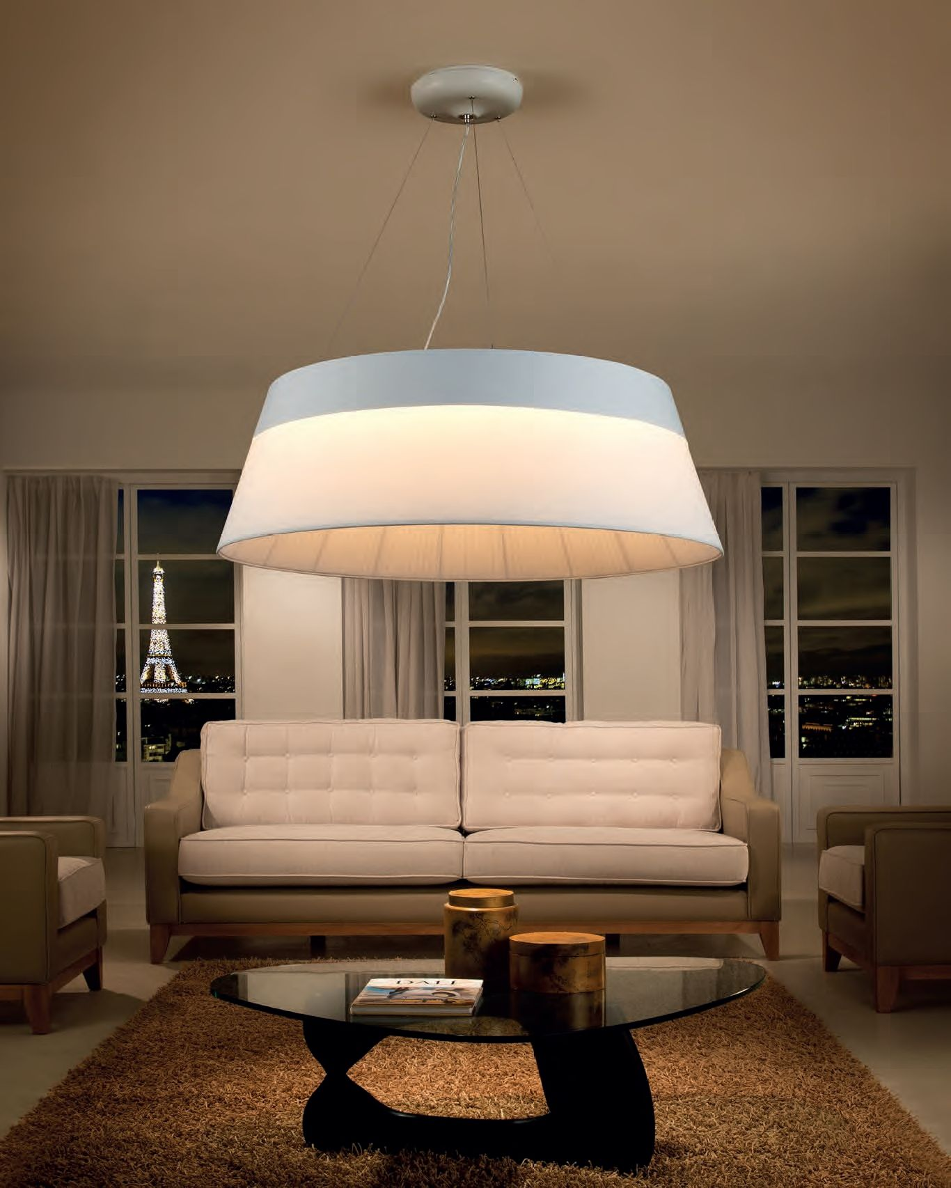 Extra Large Modern feature light for Atrium entrance hallway or