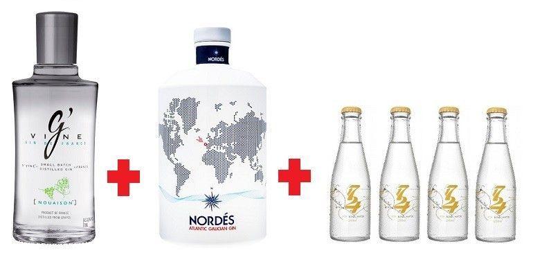 Oferta 1 Botella Gin G Vine Nouaison 1 Botella Gin Nordes 4