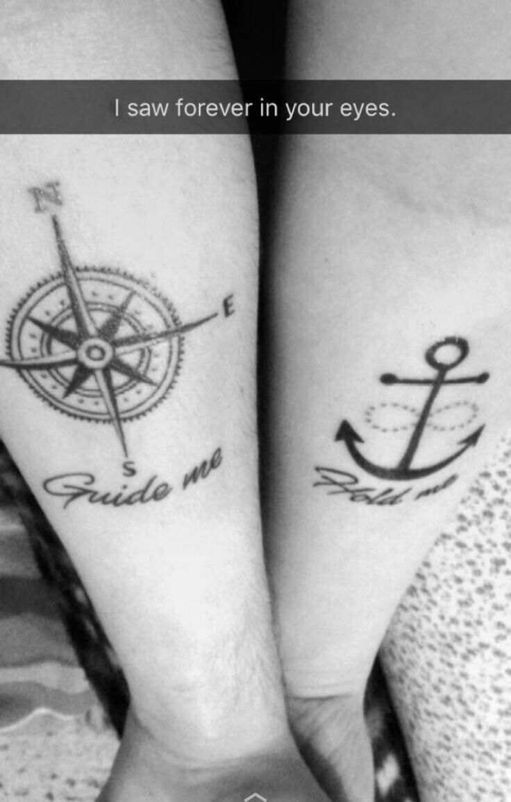 41+ Amazing Anchor tattoo meaning for couples image HD