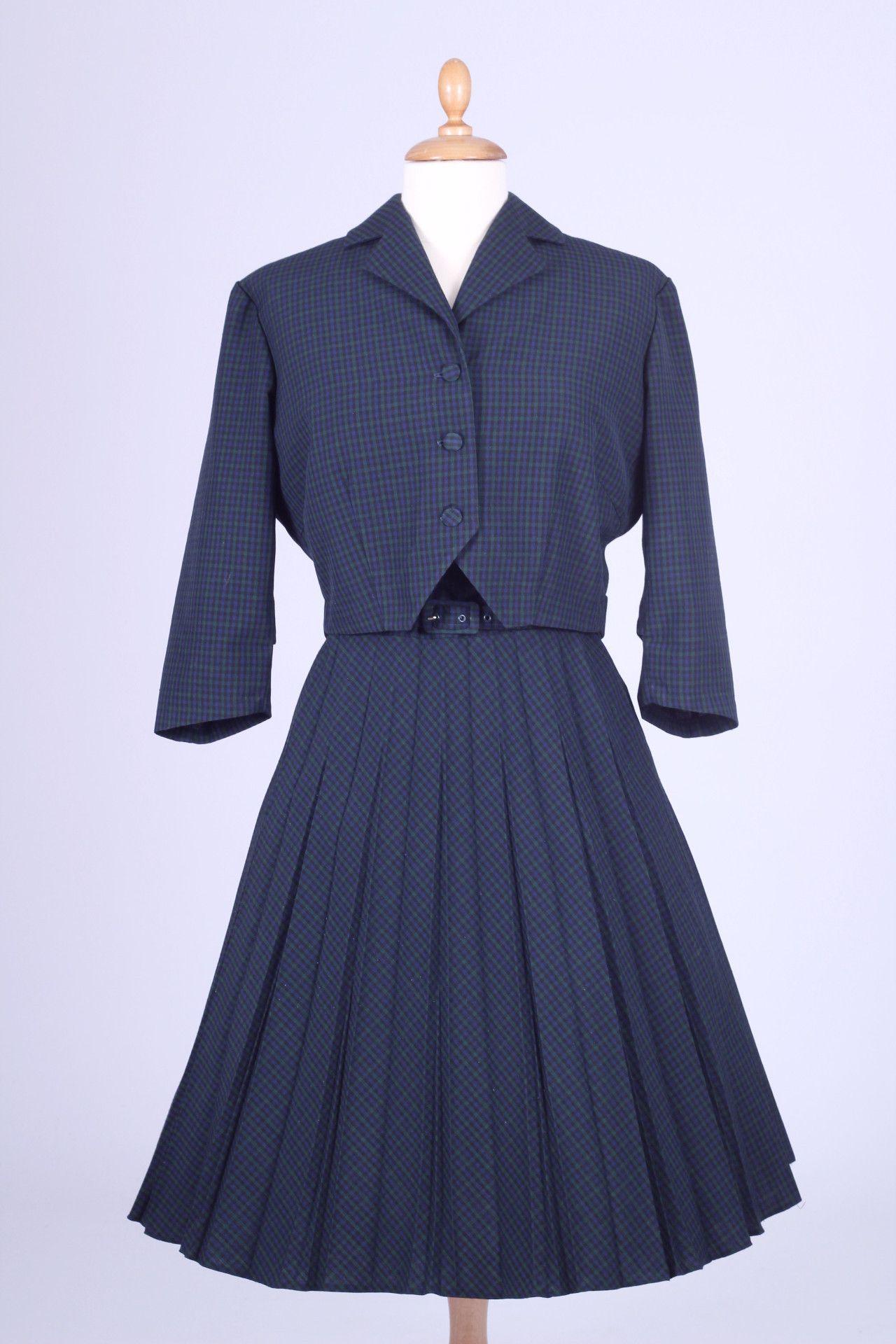 Vintagekjoler Divine Kjole 800 M Terylene Kr Jakke Mm Vintage xqSOC