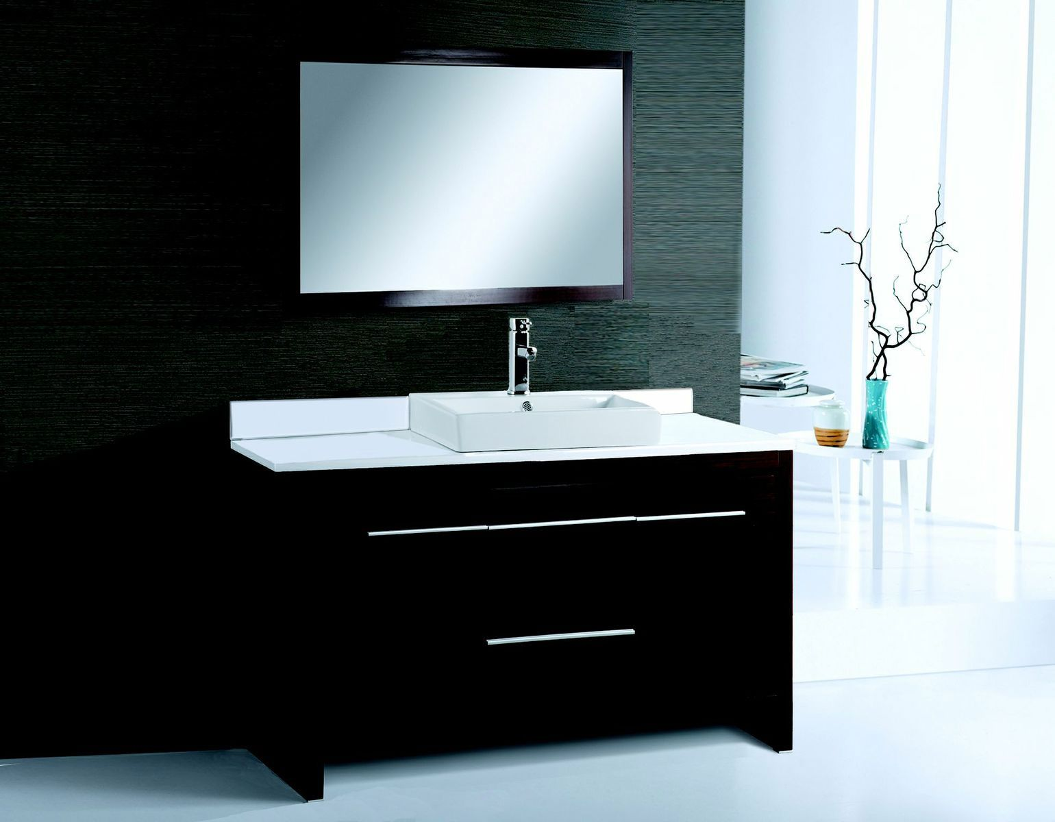 modern bathroom vanities cheap alexa 48 inch modern bathroom vanity rh pinterest es
