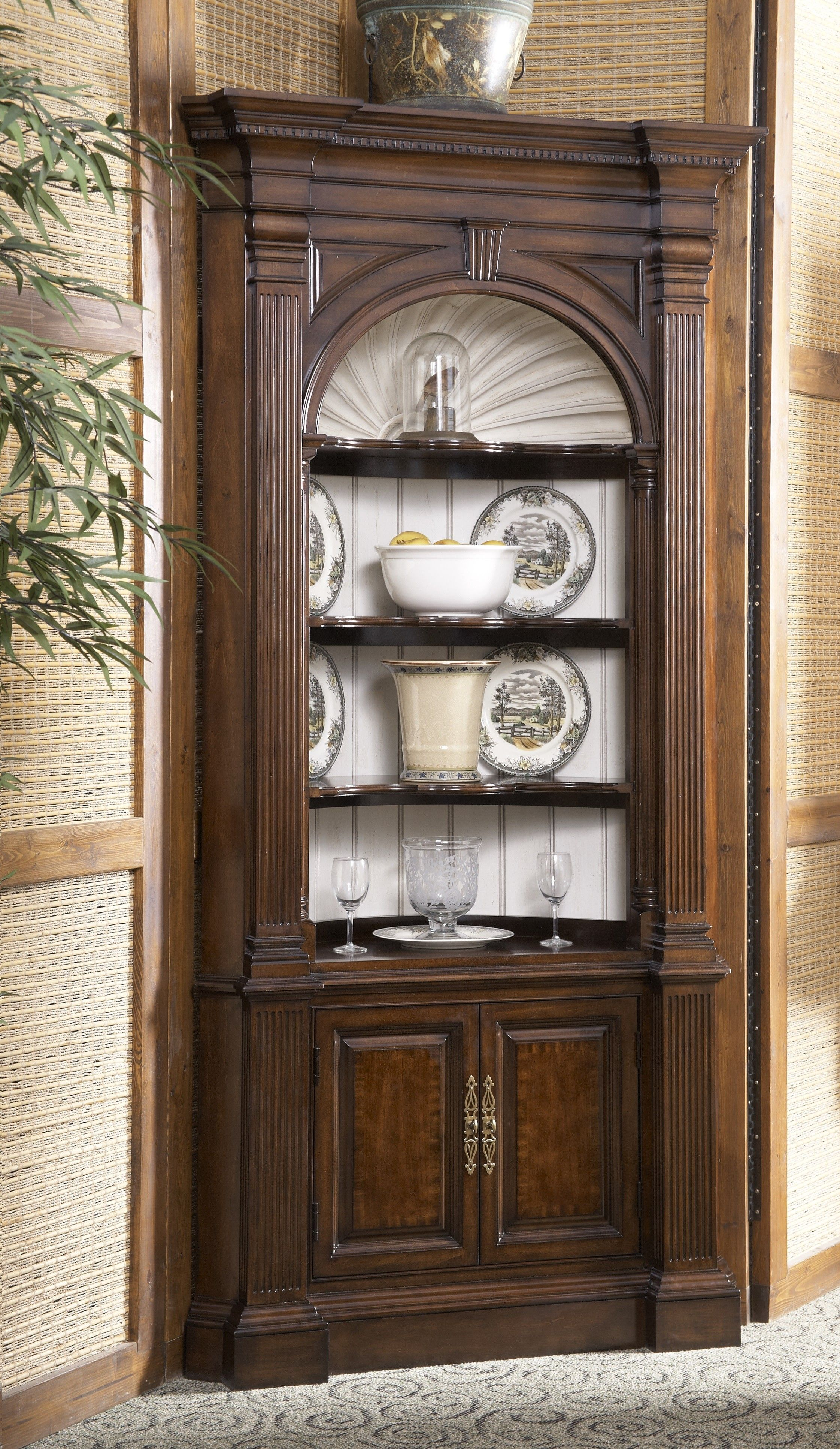 Antique Dark Wood Corner Cabinet You Can Greatly Benefit From A China In The Event That Are Home