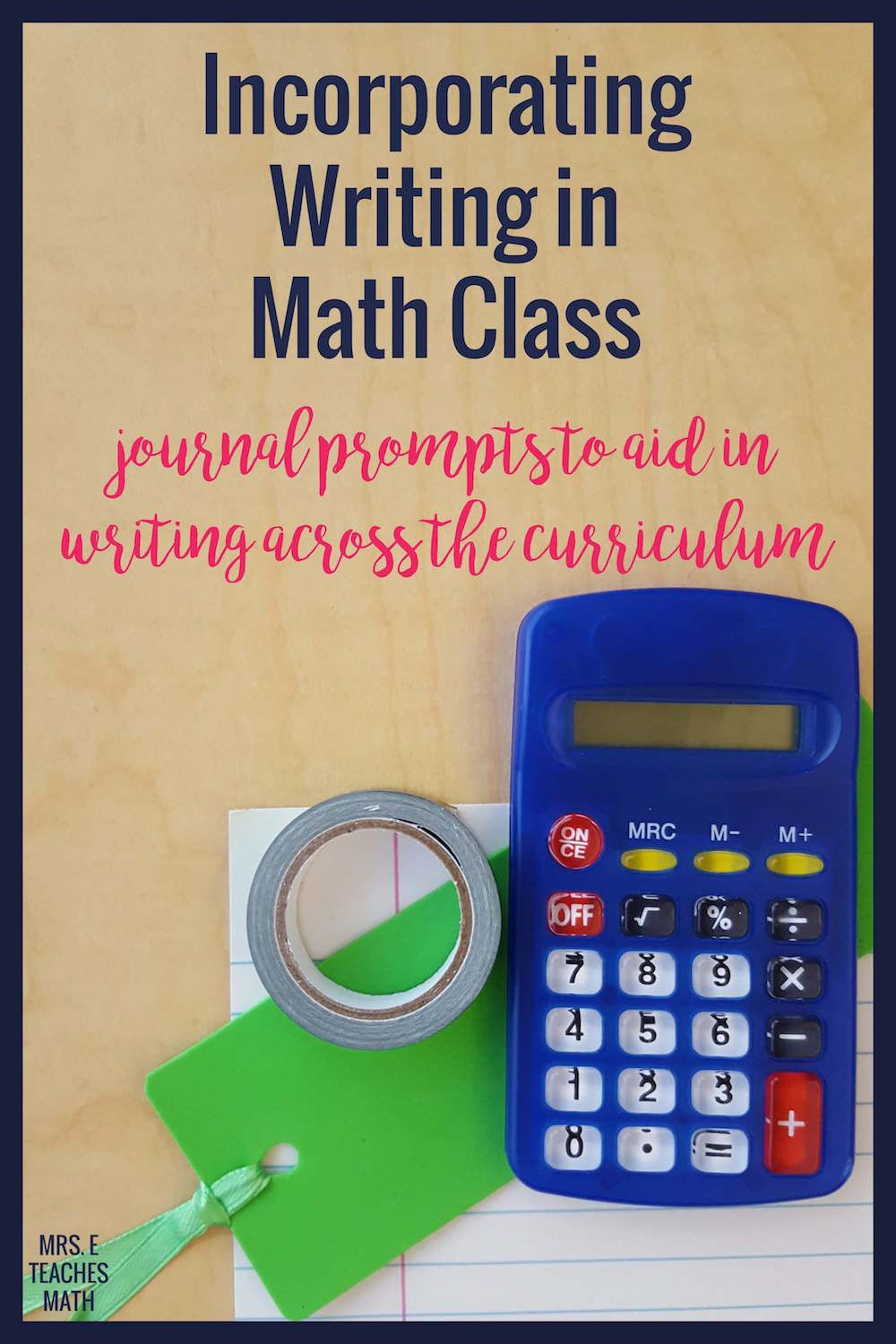 Incorporating Writing in Math | Writing help, Students and Math