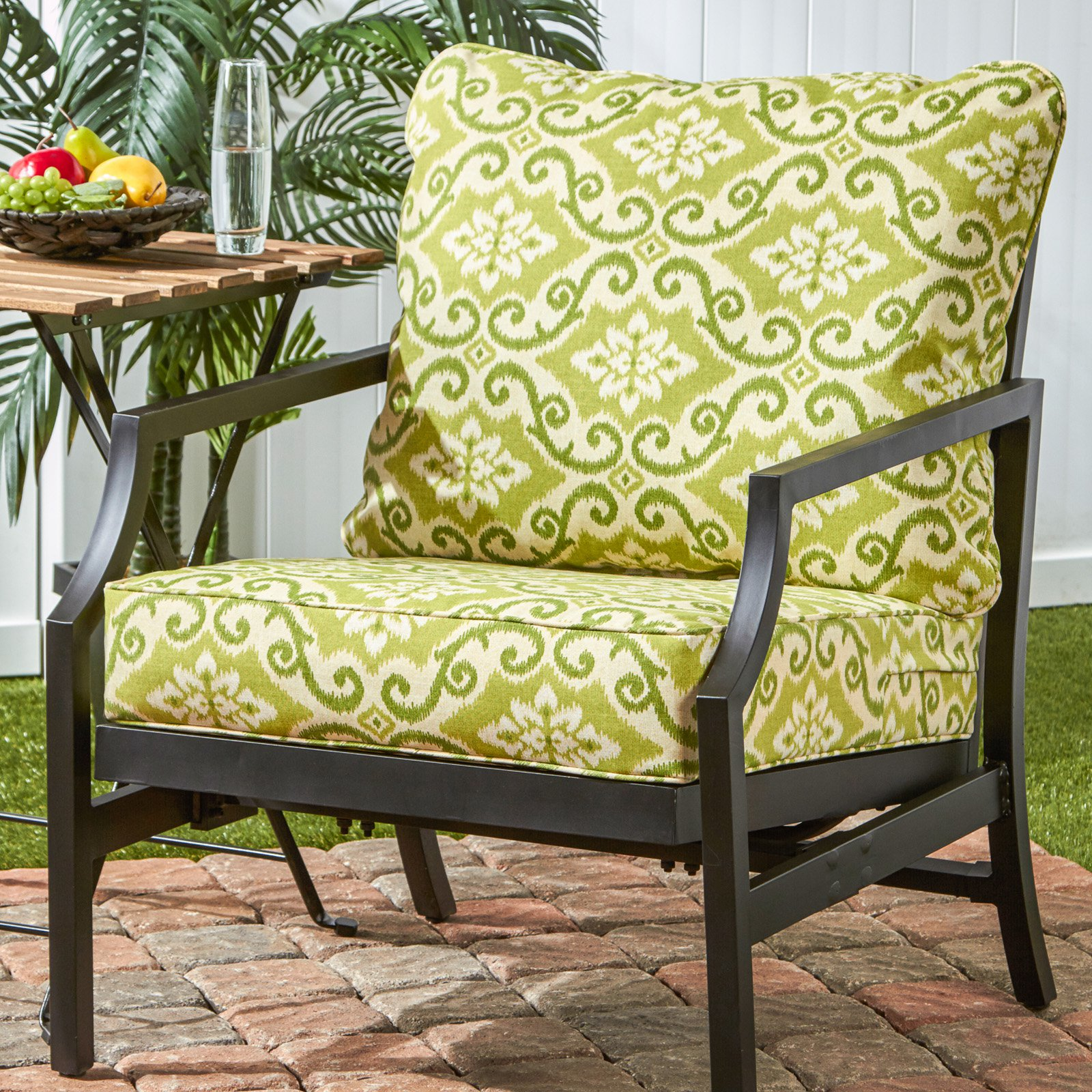 Greendale Home Fashions Deep Seat Cushion Set Shoreham