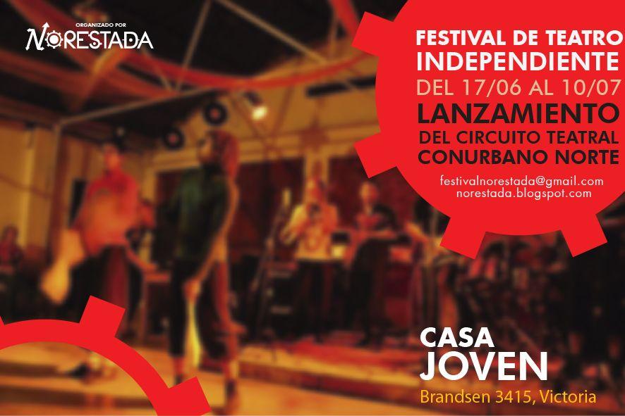 Postal Festival de Teatro Independiente Norestada. 2011