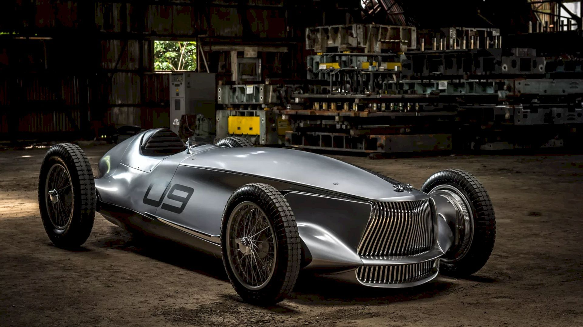 INFINITI Prototype 9 Concept: The Old New Perspective in Retro-Faced ...