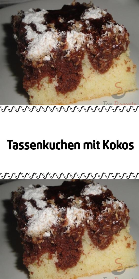 Tassenkuchen mit Kokos #foodporn