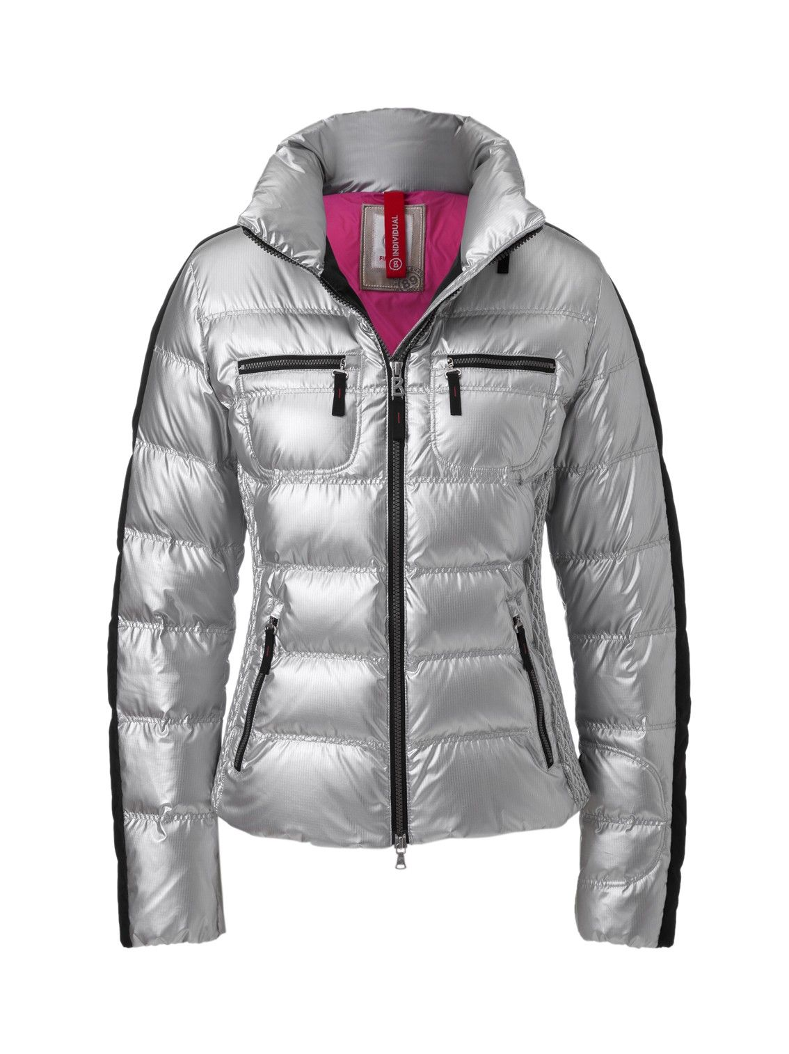 9379079c7 BOGNER FIRE & ICE LEONY-D DOWN JACKET | SHINY SILVER in 2019 | Down ...
