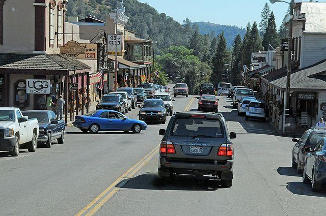 Small Town California.