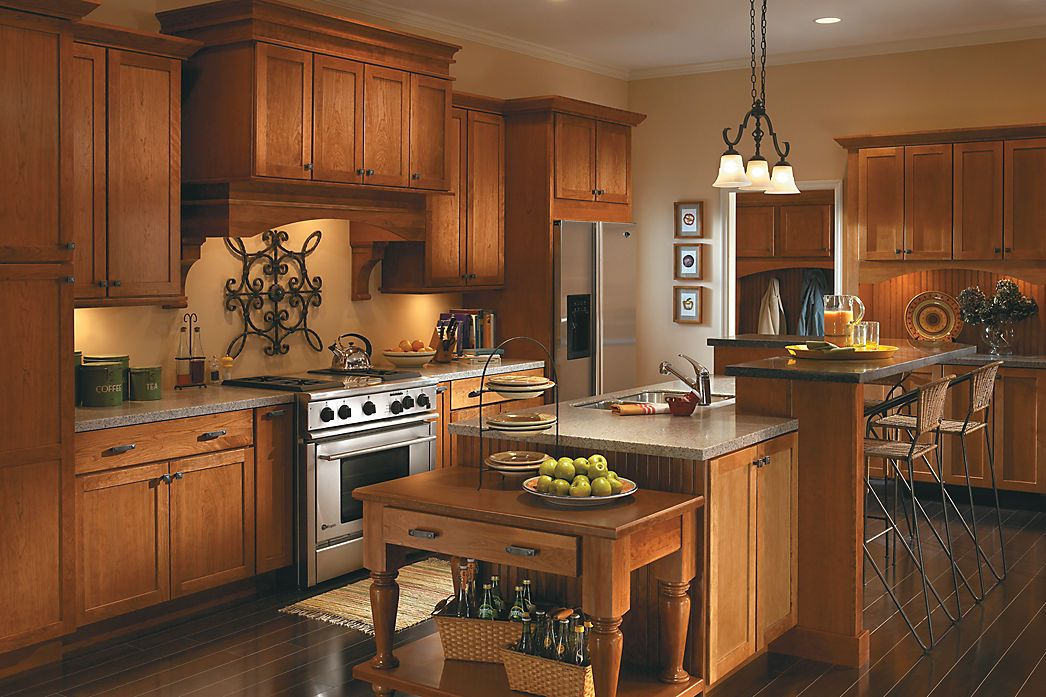 Pin by J.B. Turner & Sons on Medallion Cabinetry | Kitchen ...