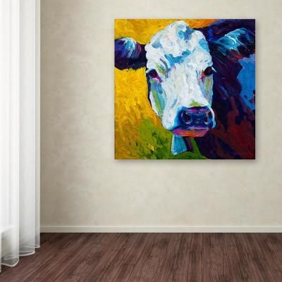 Trademark Fine Art 35 In X 35 In Belle By Marion Rose Printed Canvas Wall Art Multi Canvas Wall Art Wall Canvas Trademark Fine Art