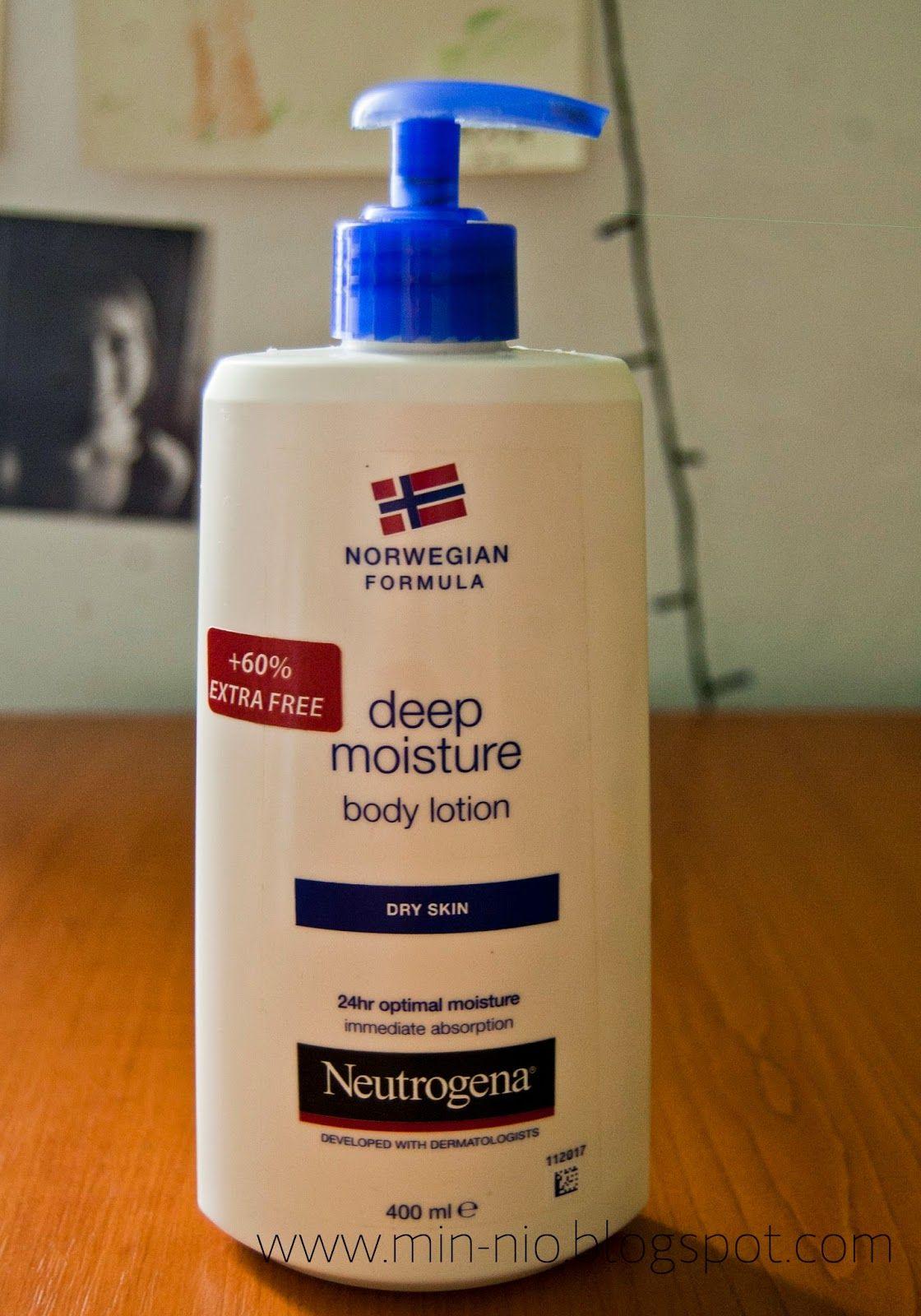 neutrogena body lotion for dry skin