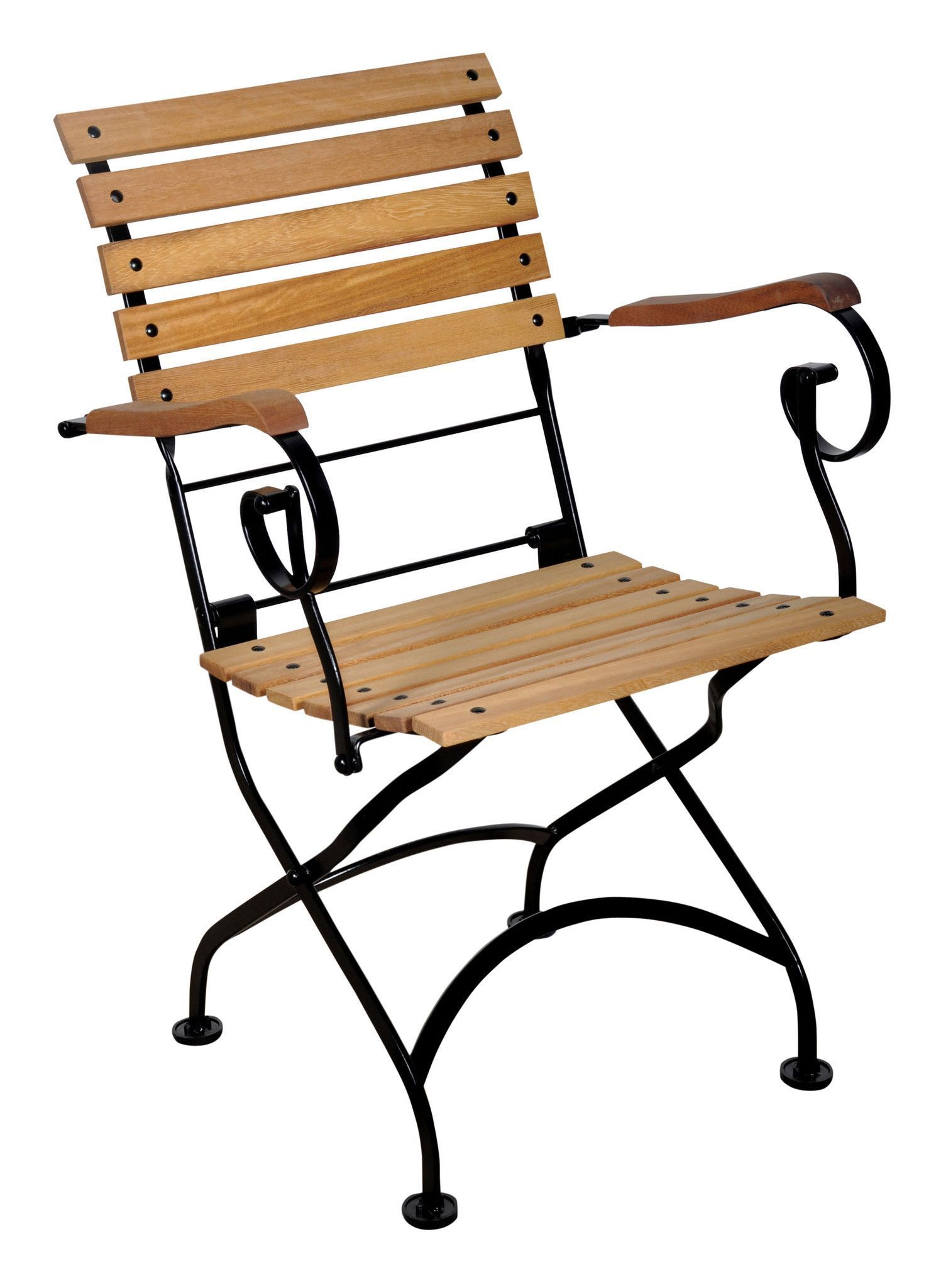 Perfect Buy Café Bistro French Folding Armchair With Teak Slats From EventsUber.com  (set Of 2) At EventsUber.com For Only $ 790.00
