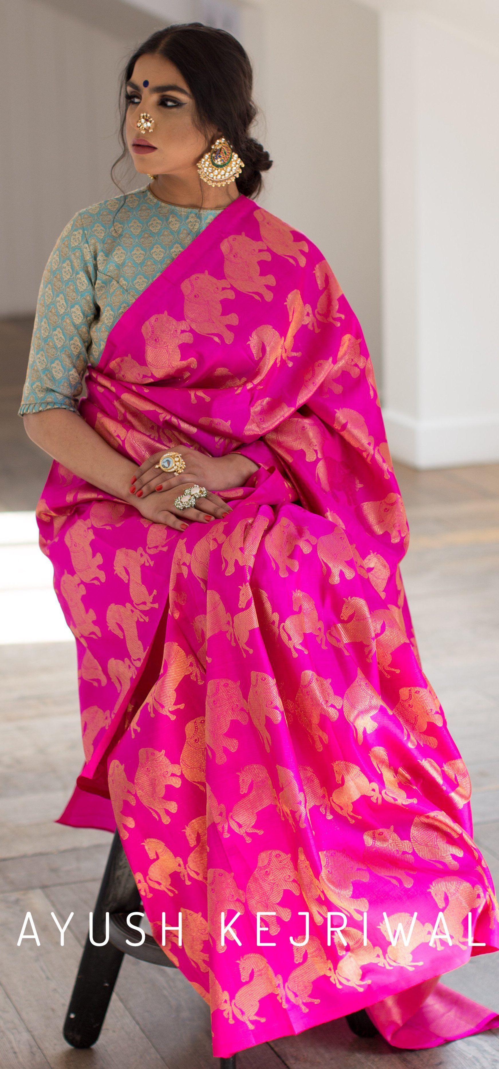 Kanjiveram Sarees by Ayush Kejriwal For purchases email me at ...