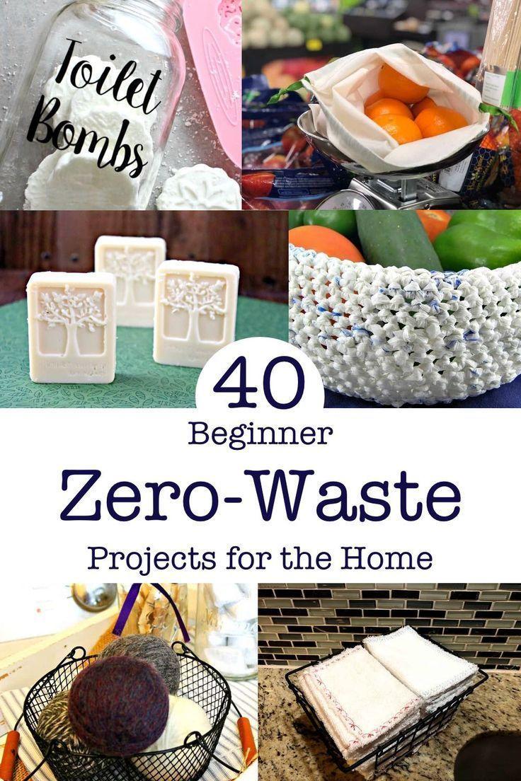Photo of 40+ Easy Zero Waste-Projekte für zu Hause – #Easy # für #Home #WasteProjects