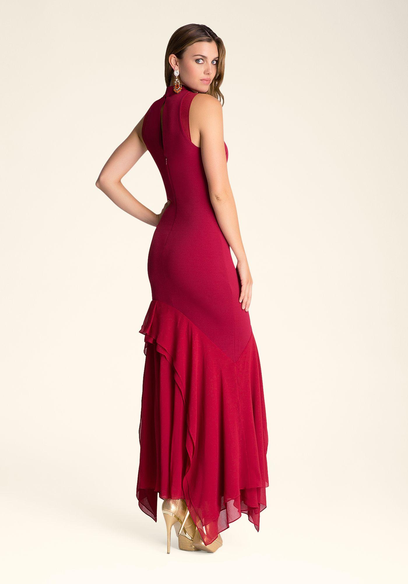 5ac9fa0fddd Bebe ---- Asymmetric-Maxi-Dress ---- Rachel Moore ---- 235933-uma ...