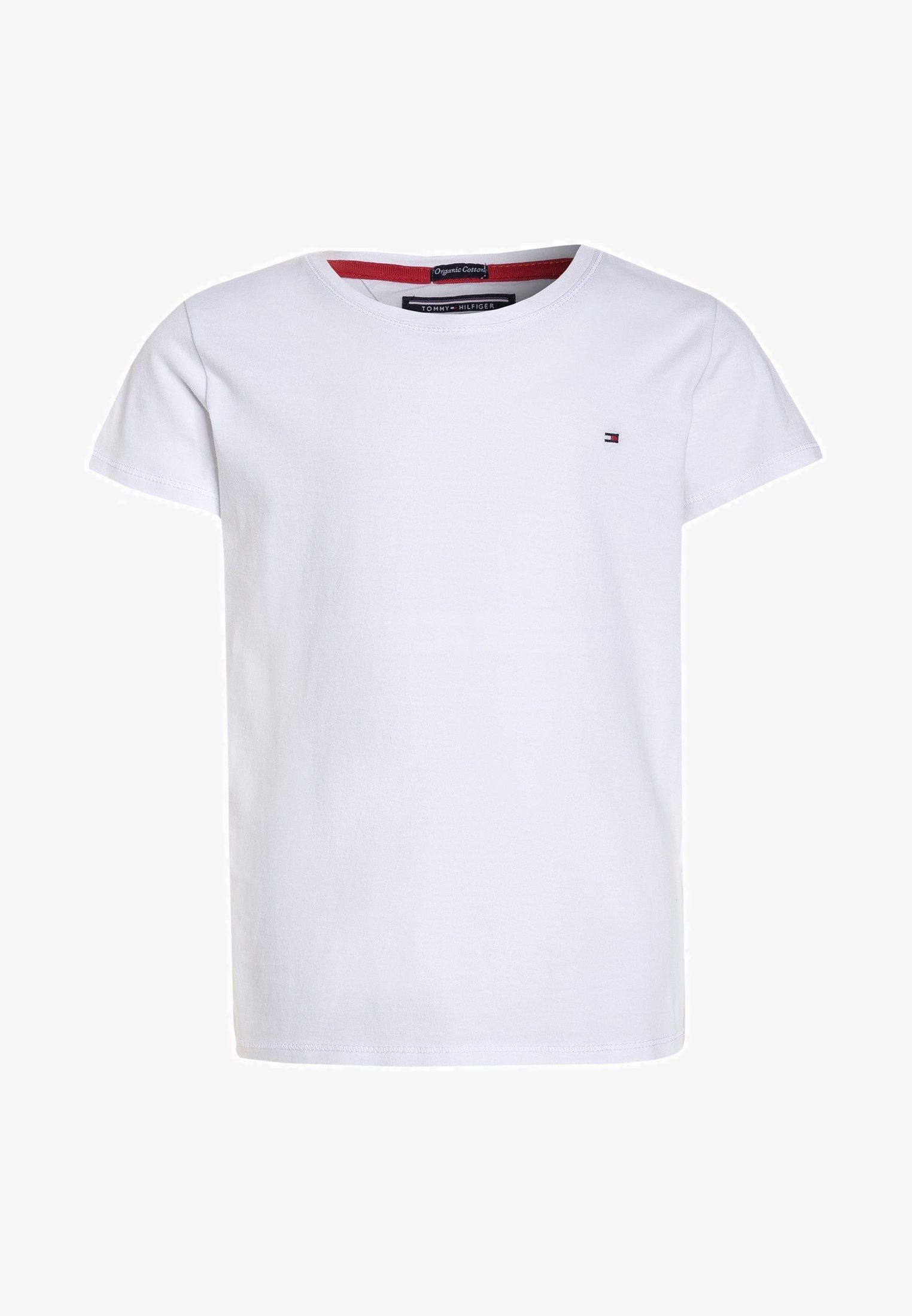3409dcef T-shirt basic - classic white | Classic white and Tommy hilfiger
